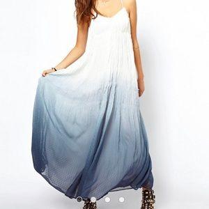 ASOS Ombré Maxi Dress (Dobby) Size 4 (USA)